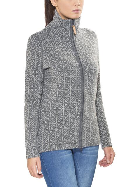 Fjällräven Övik Frost Cardigan Women Grey